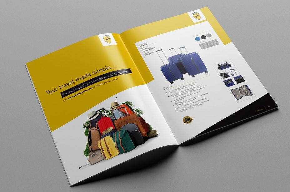 cách làm catalogue đơn giản
